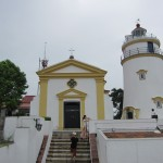 The Guia fortress is basically just a lighthouse and a church.