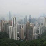Looking down from Victoria Peak.