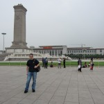 Yes, me....on Tiananmen Square.