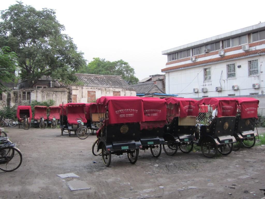 Looks like we found the home of the Rickshaws.