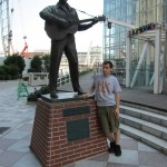 ...and me with Elvis. [2010/09/18 - Kobe]