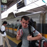 Then it's time for me and my new can of coffee to hop onto the Shinkansen and travel on to Hiroshima. [2010/09/20 - Osaka/Shin-Osaka JR Station]