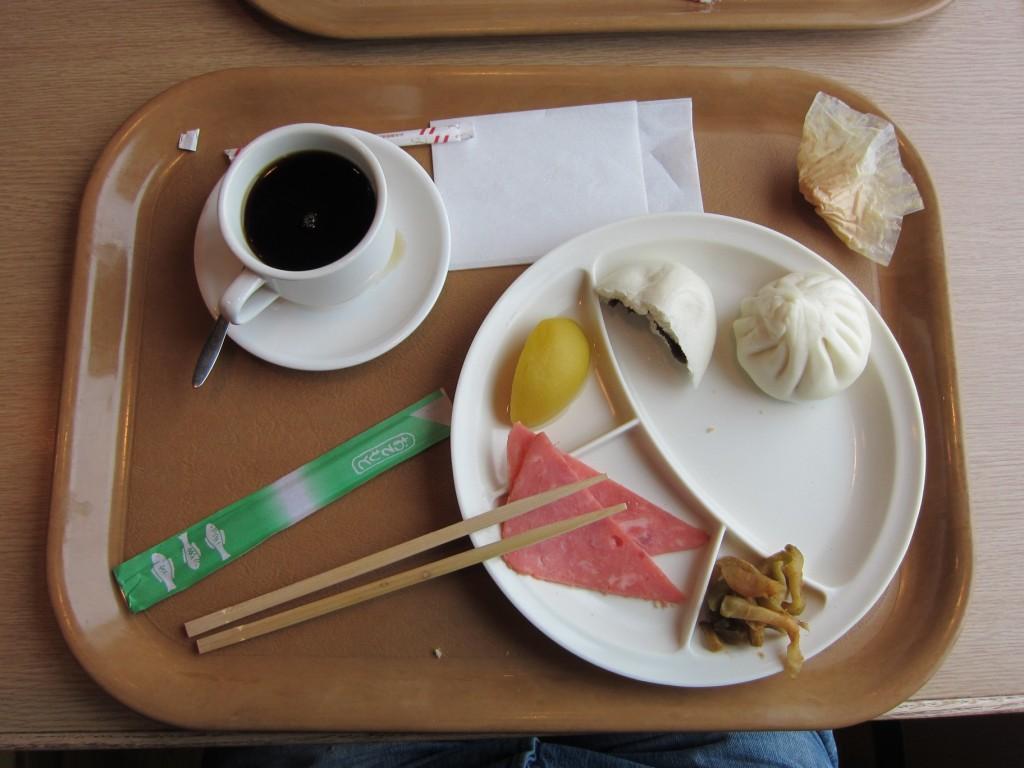 One more interesting breakfast... [2010/09/16 - Su Zhou Hao/Near Osaka]