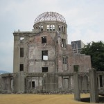 ...the A-Bomb Dome. [2010/09/20 - Hiroshima/Peace Memorial Park]