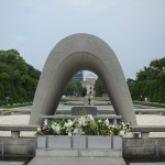 After a little tour around the Cenotaph... [2010/09/20 - Hiroshima/Peace Memorial Park]