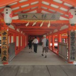 Time for a little tour of the shrine. [2010/09/21 - Miyajima]