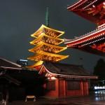 The pagoda of Sensō-ji. [2010/09/27 - Tokyo/Asakusa]