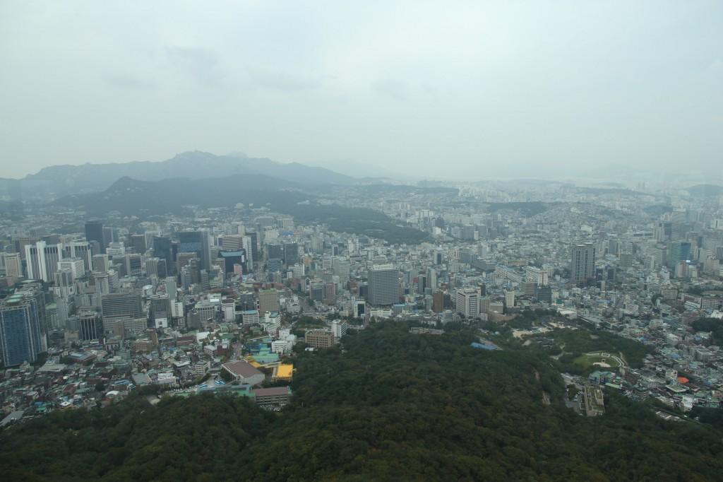 N Seoul Tower / Seoul [2012/09/26 14:59:30]