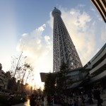 In front of the Tokyo Skytree / Tokyo [2012/10/22 16:15:03]