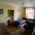 At the Trans-Sib Hostel, Irkutsk (2014/07/18 11:03:31+09:00)