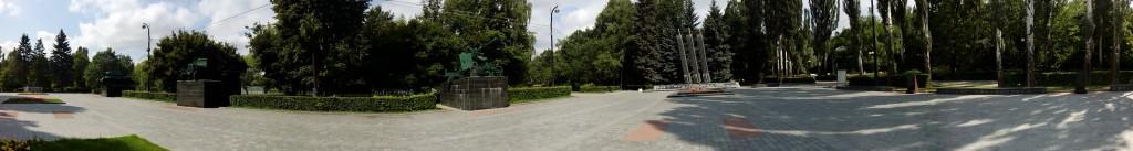 Izmailovsky Park War Square, Moscow