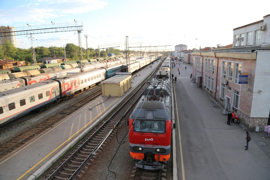 Perm II Station, Perm (2014/07/13 21:58:03+06:00)