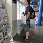 At the Mt. Hakodate Ropeway, Hakodate  (2014/08/06 14:09:07+09:00)
