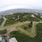 At Goryokaku Tower, Hakodate (2014/08/07 16:04:25+09:00)