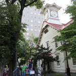 At the Clock Tower, Sapporo (2014/08/08 16:29:49+09:00)