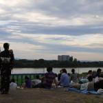 Shimano River, Nagaoka (2014/08/03 17:39:34+09:00)