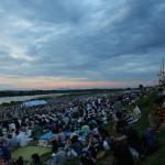 Shimano River, Nagaoka (2014/08/03 18:47:19+09:00)