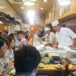 Sushi Dai, Tsukiji Fish Market, Tokyo (2014/08/12 09:44:44+09:00)