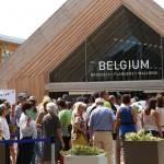 Belgium Pavilion, EXPO 2015 (Rho Fiera), Milan (2015/08/05 11:54:15+02:00)